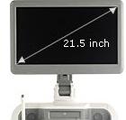 21,5 colos képátlójú Full HD LED monitor