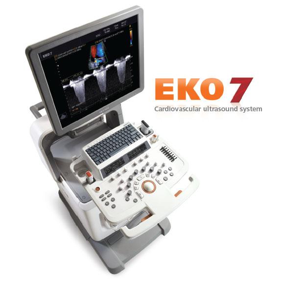 A cardiovascularis ultrahang rendszer - Medison EKO 7