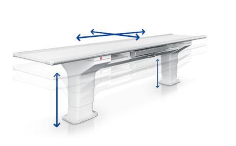 6 irányba állítható asztal