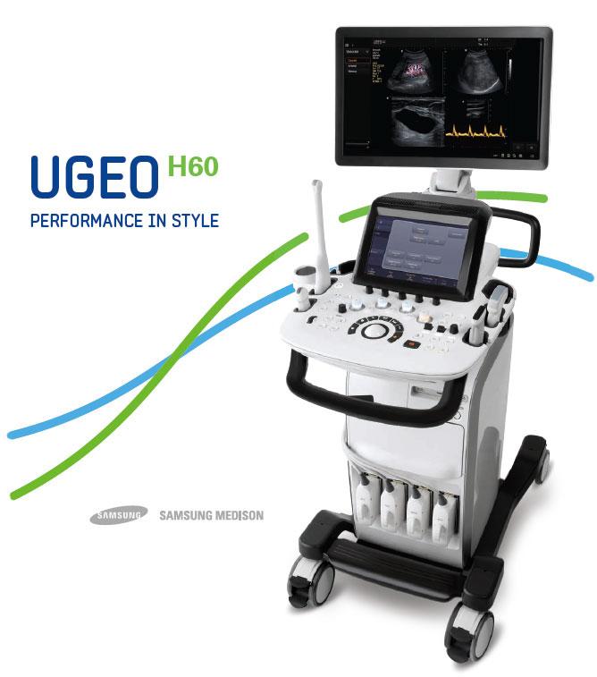 Samsung Medison UGEO H60 uh készülék