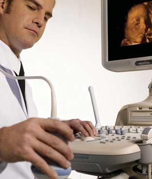 Samsung Medison SonoAce X8 4D ultrahang-diagnosztikai készülék szülészeti-nőgyógyászati célra
