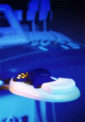 Medison Accuvix XQ 3D, 4D ultrahang készülék, 3D mouse