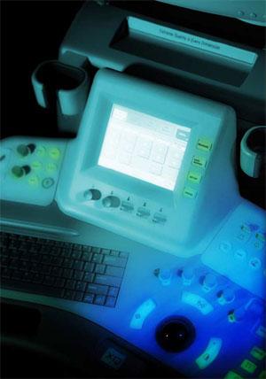 Medison Accuvix XQ 3D, 4D ultrahang készülék, Érintõpaneles kezelõfelület