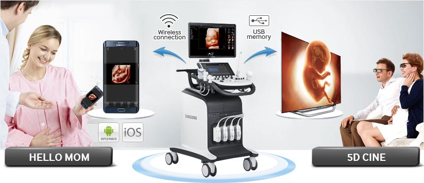Hello Mom mobilalkalmazás segítségével küldhetők az ultrahang képek a telefonra