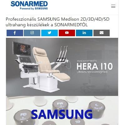 SONARMED - új honlap